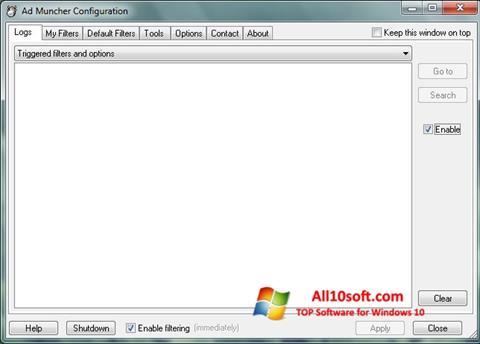 Screenshot Ad Muncher für Windows 10