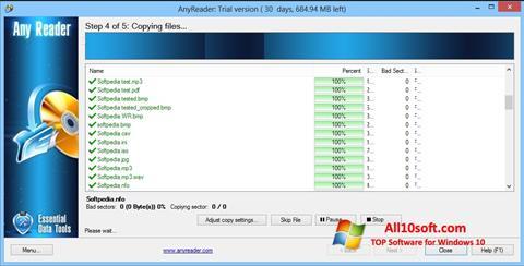 Screenshot AnyReader für Windows 10