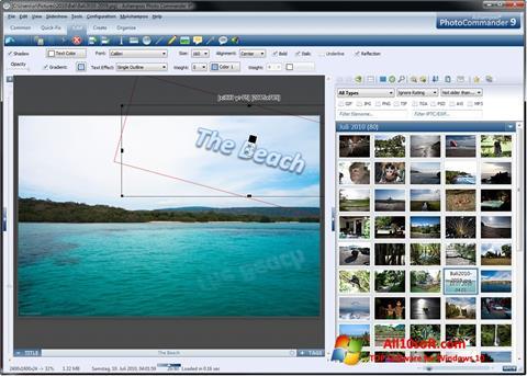 Screenshot Ashampoo Photo Commander für Windows 10