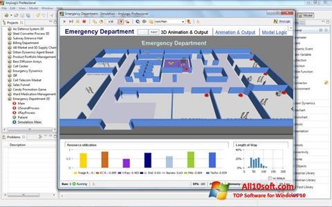 Screenshot AnyLogic für Windows 10