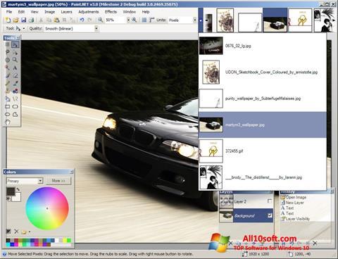 Screenshot Paint.NET für Windows 10